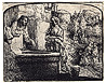 Rembrandt, Christ & Woman of Samaria
