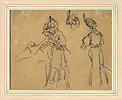 Lepère, Studies of Ladies Shopping