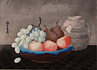 Urushibara , Fruit in a Bowl
