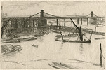 Whistler, Old Hungerford Bridge
