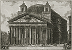 Piranesi, The Pantheon (Exterior)