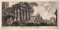 Piranesi, The Temple of Pola