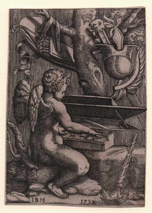 Scultori, Eros Playing a Clavier