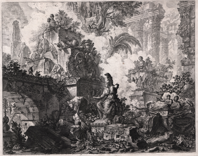 Piranesi, Frontispiece