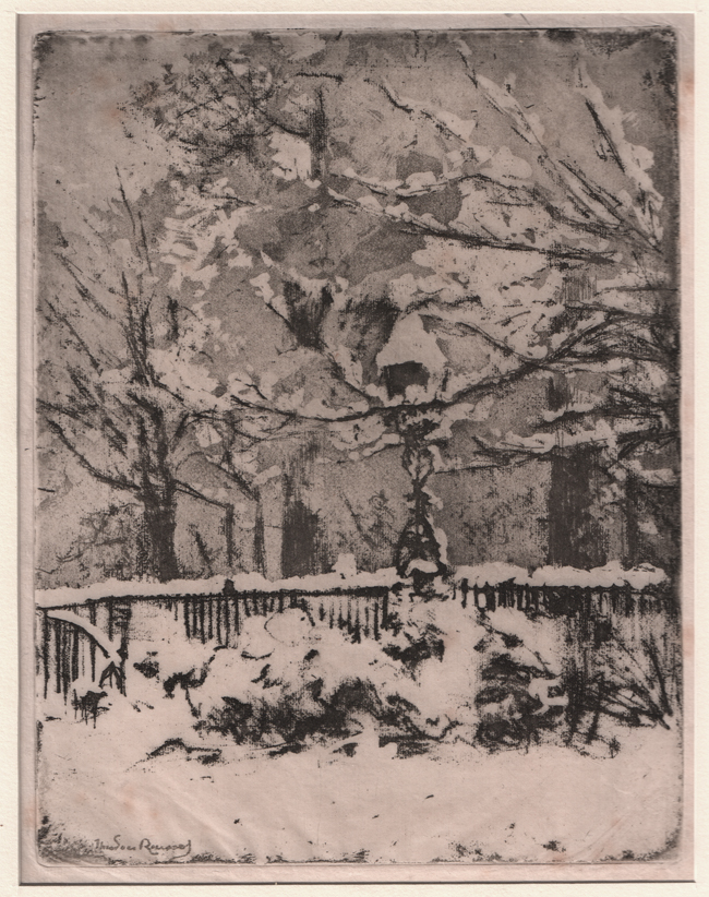 Roussel, The Snow